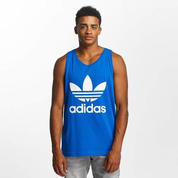 adidas Tanktop Trefoil blauw