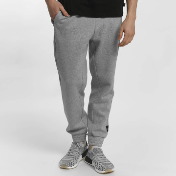 adidas tepláky Equipment Knit Bottom šedá