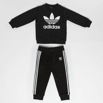 adidas Trainingspak Trefoil Set zwart