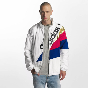 adidas Veste mi-saison légère Tribe Track blanc