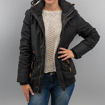 Alife & Famous winterjas Allegra zwart