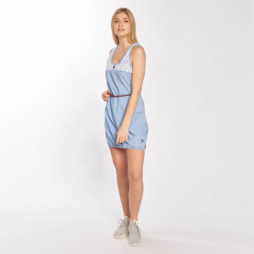 Alife & Kickin Dress Doja blue