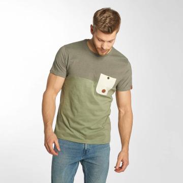 Alife & Kickin T-shirt Leo verde
