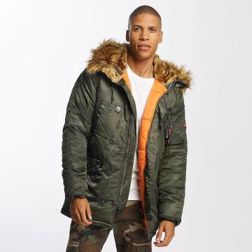 Alpha Industries Зимняя куртка N3B VF 59 камуфляж