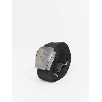 Alpha Industries Ремень Buckle Belt черный