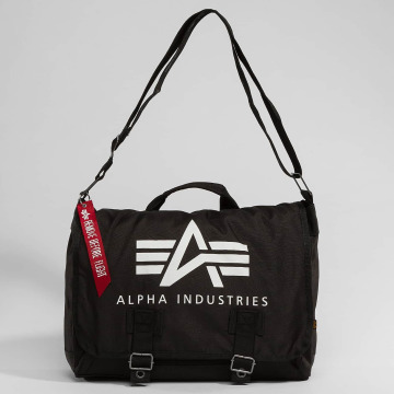 Alpha Industries Сумка Big A Oxford Courier черный