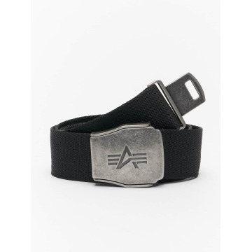 Alpha Industries Belt Buckle Belt black