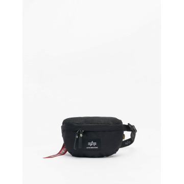 Alpha Industries Bolso Cargo Oxford negro