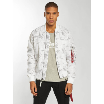 Alpha Industries Bomber MA-1 TT blanc