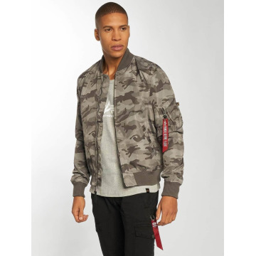 Alpha Industries Bomber MA-1 TT gris