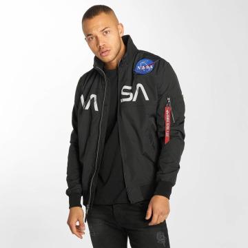 Alpha Industries Bomber jacket NASA Flight black