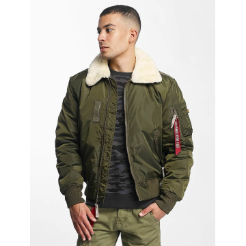 Alpha Industries Bomberjack Injector III Flight groen