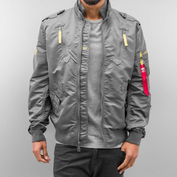 Alpha Industries Bomberjacke Falcon II grau