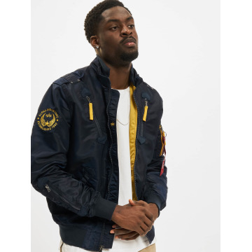 Alpha Industries Bomberová bunda Falcon II modrá