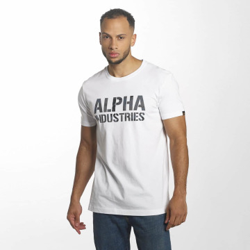 Alpha Industries Camiseta Camo Print blanco
