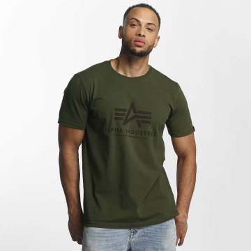 Alpha Industries Camiseta Basic verde