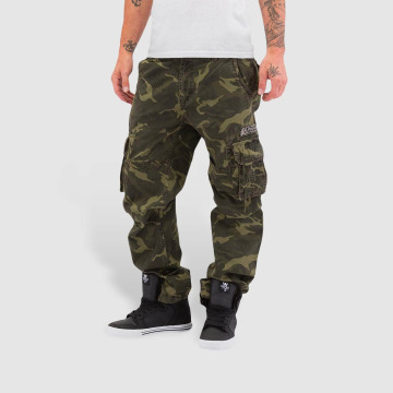 Alpha Industries Cargo pants Jet kamufláž