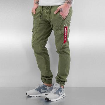 Alpha Industries Cargo pants Fuel olive