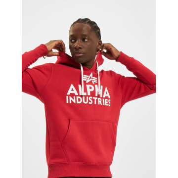 Alpha Industries Hoody Foam Print rot