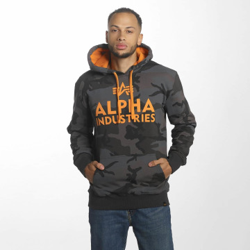 Alpha Industries Hoody Foam Print schwarz
