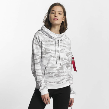 Alpha Industries Hoody X-Fit weiß