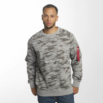 Alpha Industries Jersey X-Fit gris