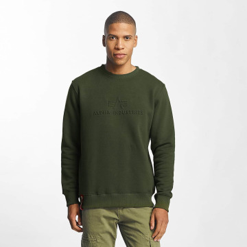 Alpha Industries Jersey 3D verde
