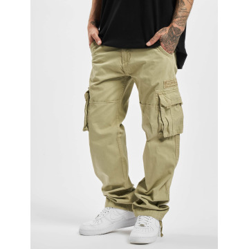 Alpha Industries Pantalon cargo Jet beige