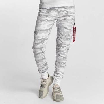 Alpha Industries Pantalón deportivo X-Fit blanco