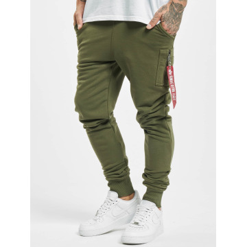 Alpha Industries Pantalón deportivo X-Fit verde