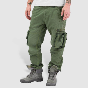 Alpha Industries Pantalone Cargo Tough oliva