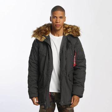 Alpha Industries Parka Explorer grijs
