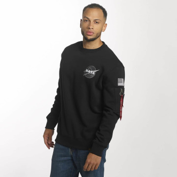 Alpha Industries Pullover Space Shuttle schwarz