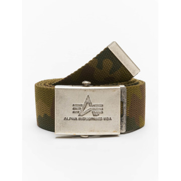 Alpha Industries riem Heavy Duty camouflage