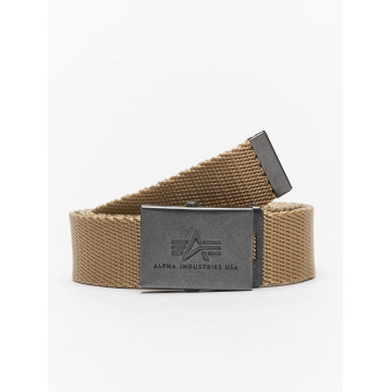 Alpha Industries riem Heavy Duty khaki