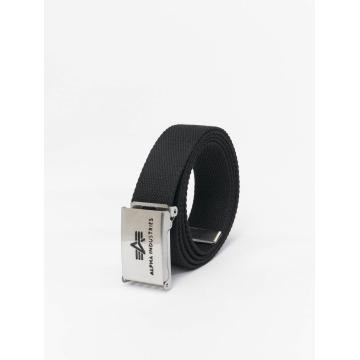 Alpha Industries riem Big A zwart