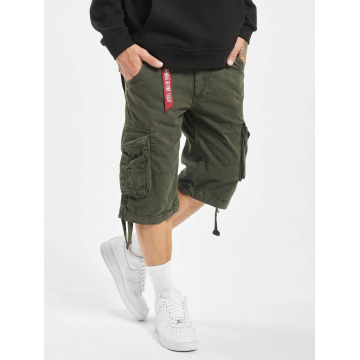 Alpha Industries shorts Jet grijs