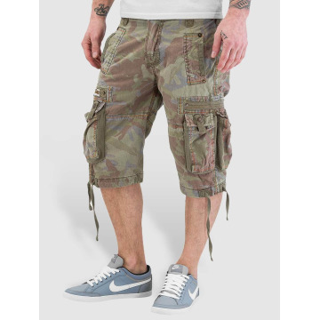 Alpha Industries Shorts Terminal C kamouflage