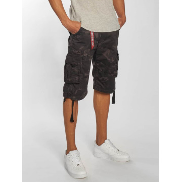 Alpha Industries Shorts Jet nero