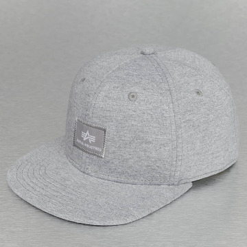 Alpha Industries Snapback Cap X-Fit grey