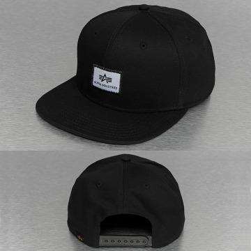 Alpha Industries Snapback Cap X-Fit schwarz