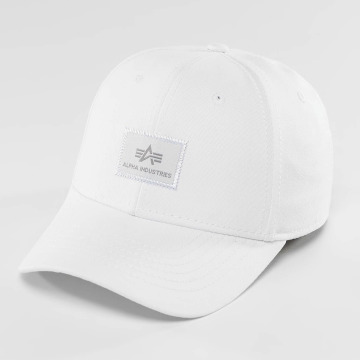 Alpha Industries Snapback Cap X-Fit II white