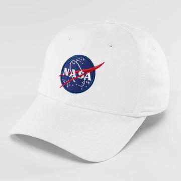 Alpha Industries Snapback Cap NASA white
