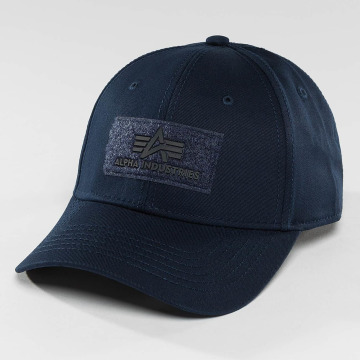 Alpha Industries Snapback Caps Velcro blå
