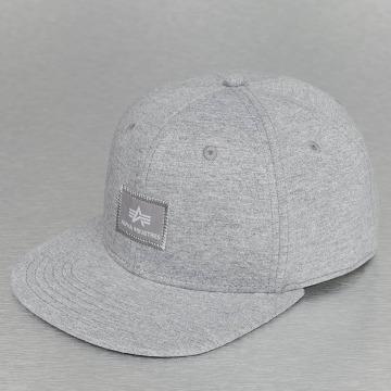 Alpha Industries Snapback Caps X-Fit grå