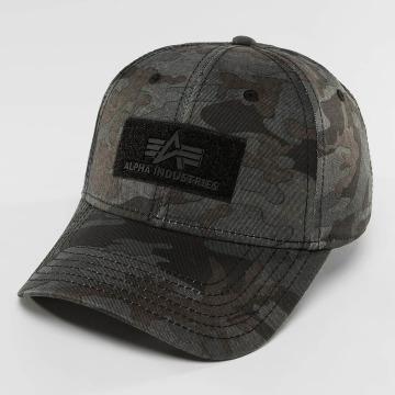 Alpha Industries Snapback Caps Velcro moro