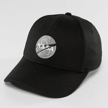Alpha Industries Snapback Caps NASA musta