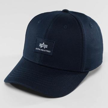 Alpha Industries Snapback Caps X-Fit II niebieski
