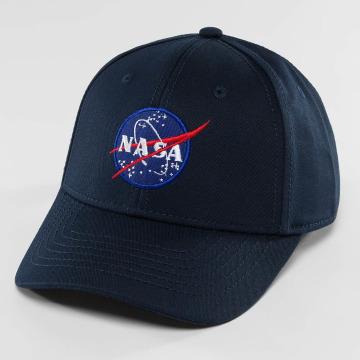Alpha Industries Snapback Caps NASA niebieski
