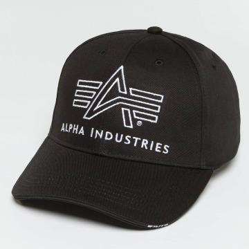 Alpha Industries Snapback Caps Big A Classic svart